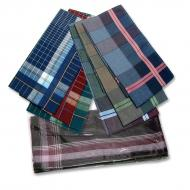 Men's handkerchief dark - 6pcs/pack