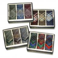 Mens handkerchief, box 3 pcs
