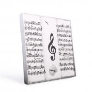 Men's handkerchief MUSIC - 3 pcs/box