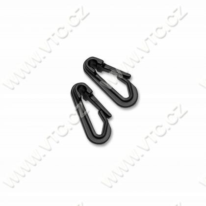 Plastic snap hook 35 mm