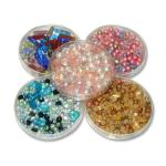 Glass beads, box 120 g