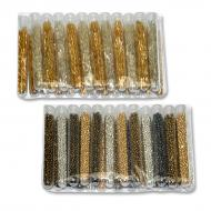 Glass beads, tube 5g