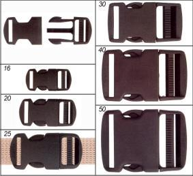 Clip buckle 40 mm