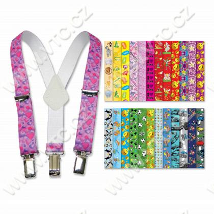 Childrens braces 25mm Y- 60 cm