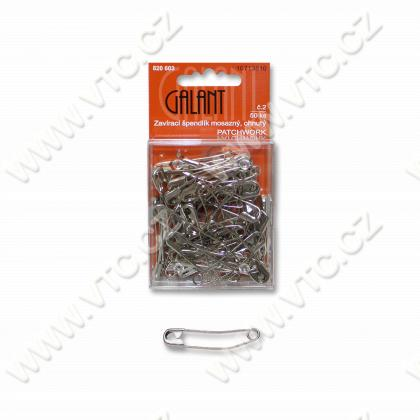 Curved safety Pins 38 mm