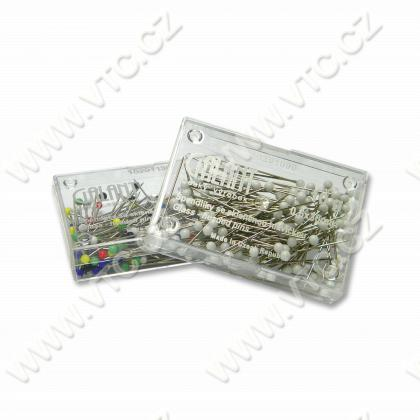 Glass-headed pins 0,6x30 mm, 10g