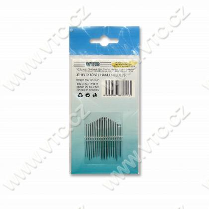 Hand needles 20 pcs SHARPS mix