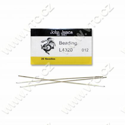 Beading needles 25 pcs size 12