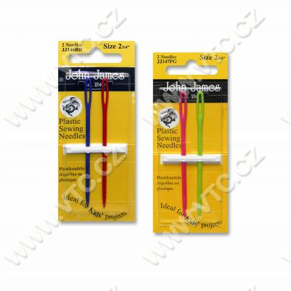 Hand needles plast.70mm 2 pcs