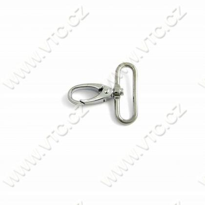 Swivel snap hook - eye 40 mm
