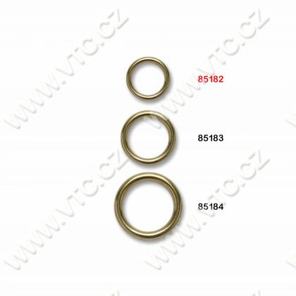 Metal ring 20 mm brass