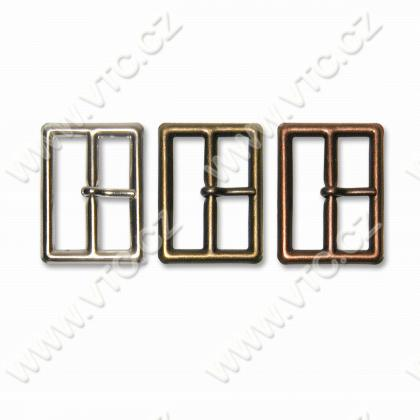 Metal buckle 35 mm with tongue