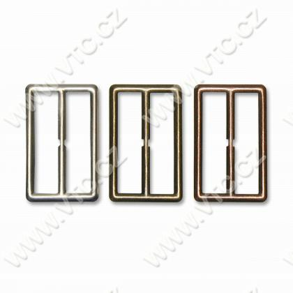 Metal buckle 45 mm without ton