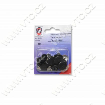 Jeans buttons SPORT 7 black nickel - card