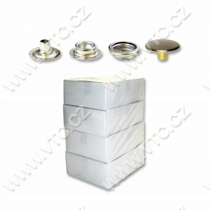 Press buttons AM6 nickel - 500pc