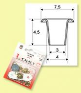 Eyelets LORD 4 mm - card