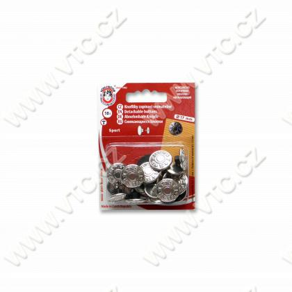 Jeans buttons SPORT 7 nickel - card