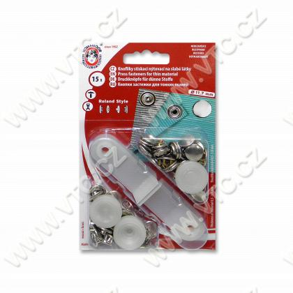 Buttons ROLAND STYLE 3 nickel - card