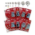 Snap fasteners KIN 1/2 nickel