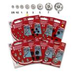 Snap fasteners KIN 2 nickel