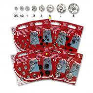 Snap fasteners KIN 5 nickel