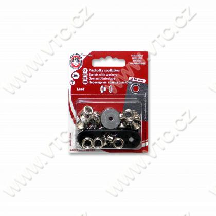 Eyelets LORD 5 mm - card