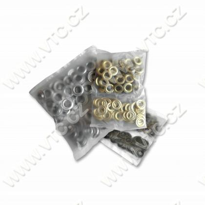 Eyelets LORD 4 mm - 100 pcs