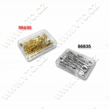Safety pins MIX 45 pcs GOLD