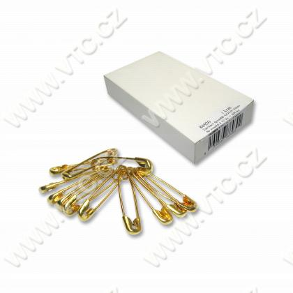 Safety pins GOLD 20 mm