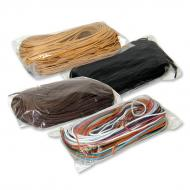Leather strip cord 90 cm